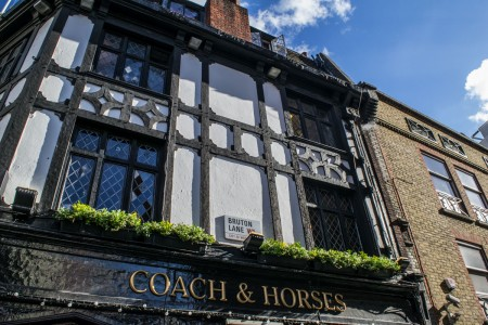 Coach and Horses Pub - Mayfair Tour - London
