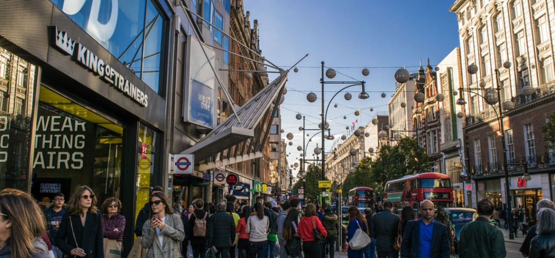 Oxford Street - Mayfair Tour - London