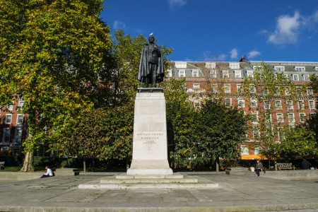 Roosevelt Memorial - Grosvenor Square - Mayfair Tour - London